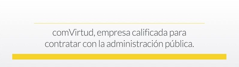 Comvirtud, empresa clasificada como contratista con la administración pública