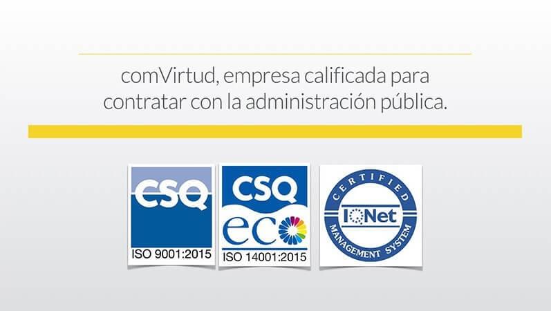 Comvirtud, empresa con certificación ISO: la normativa más actual y exigente